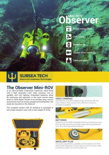 Observer 4.0 Mini-ROV