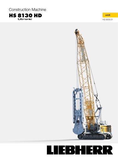 HS 8130 HD duty cycle crawler crane