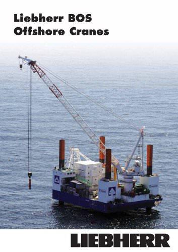 Liebherr Board Offshore Cranes (BOS Series)