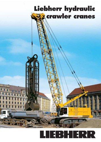 Liebherr duty cycle crawler cranes (HS Series) - Liebherr