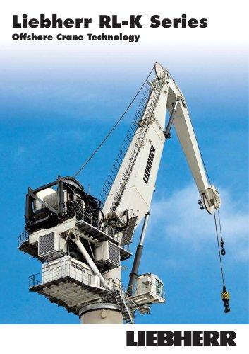 Liebherr knuckle boom Offshore Cranes (RL-K Series)