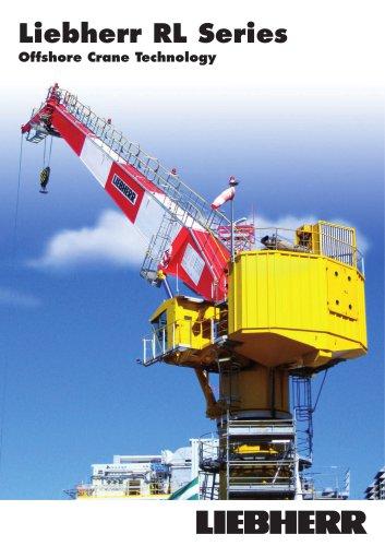 Liebherr Offshore Cranes RL Series