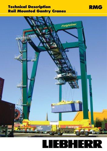 Liebherr Rail Mounted Gantry Cranes