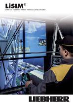 LiSIM crane simulator for LHM 550