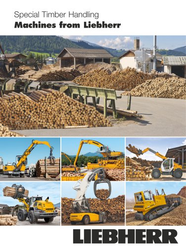 Special Timber Handling Machines from Liebherr