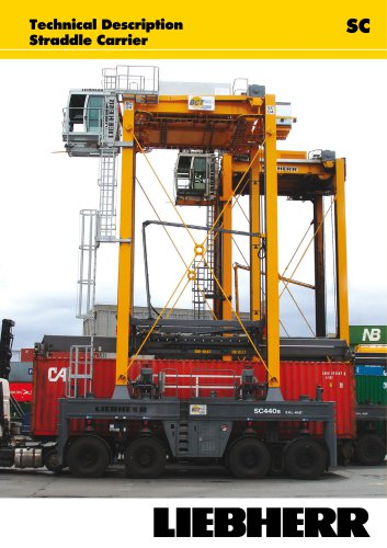 Technical Description Straddle Carrier