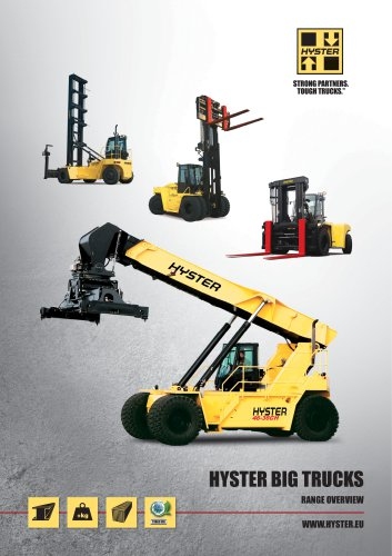 Big trucks Range brochure