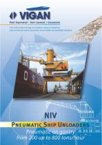 PNEUMATIC SHIP UNLOADERS - NIV