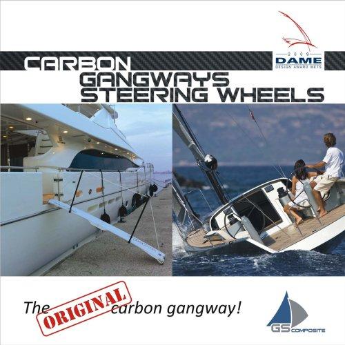 Carbon gangways and steering wheels