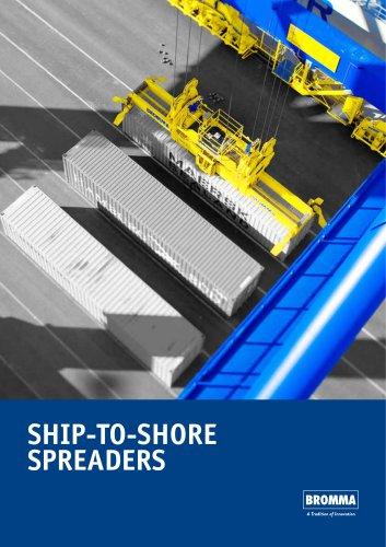 Ship to shore spreaders