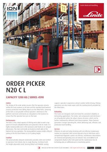 ORDER PICKER N20 C L