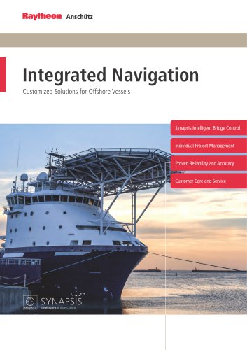 Navigation for Offshore and Research Vessels