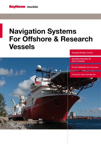 Navigation Systems for Offshore & Research Vessels