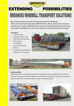 Windmill transport solutions