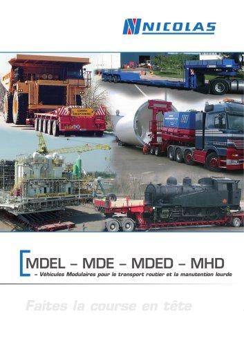 MDEL - MDE - MDED - MHD