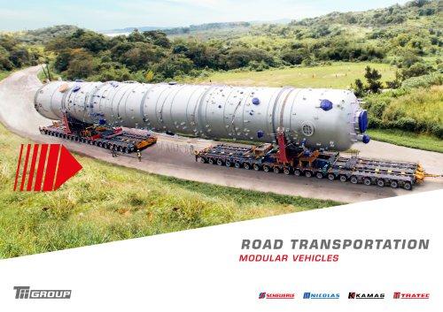 ROAD TRANSPORTATION MODULAR VEHICLES