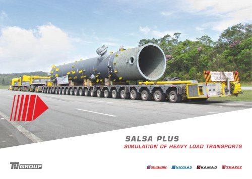 Simulation of heavy load transports