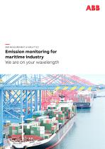 Emission monitoring for maritime industry   We are on your wavelength