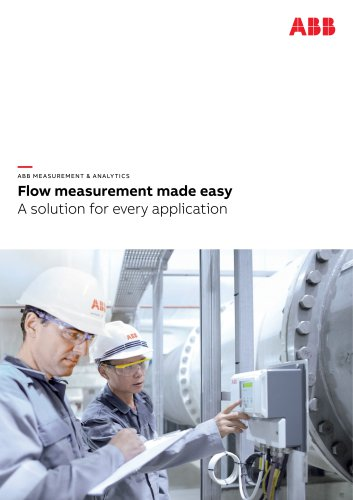 Flow measurement made easy