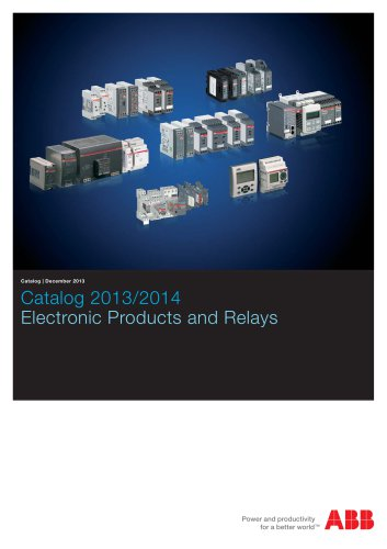 Low Quality - Electronic Products and Relays Catalog 2013/2014