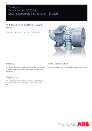 Turbocharger / A200-L