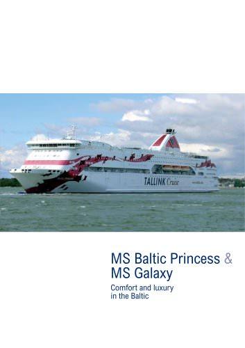 MS Baltic Princess & MS Galaxy