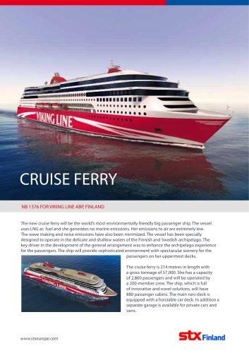 STX Finland_ Viking Line Cruise Ferry