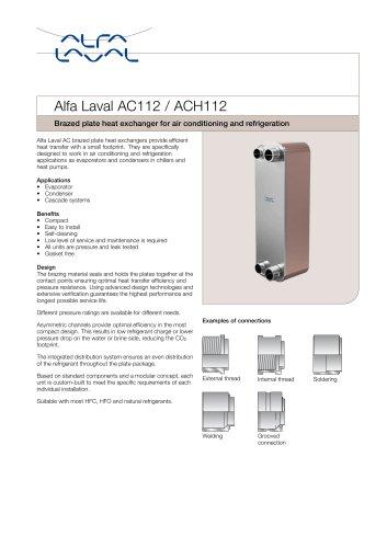 Alfa Laval AC112 / ACH112