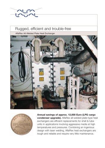 AlfaRex All-Welded Plate Heat Exchanger