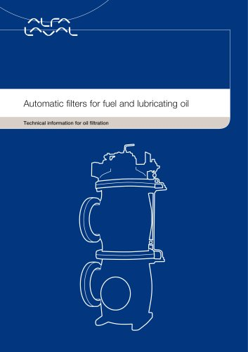 Automatic filters for fuel and lubricating oil