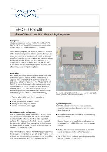 EPC 60 Retrofit