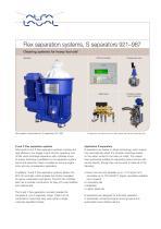 Flex separation systems, S separators 921–987