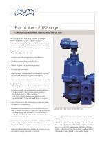 Fuel oil filter
