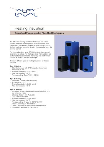 Heating Insulation