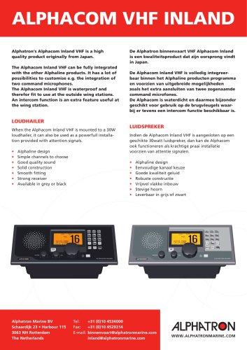 Alphacom VHF Inland