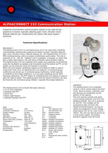 Alphaconnect P210