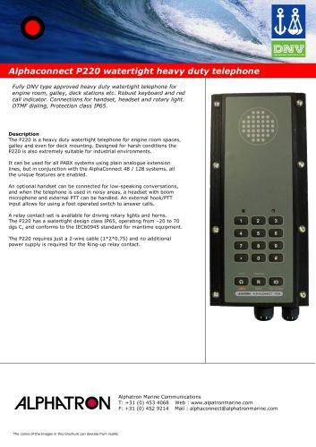 Alphaconnect P220
