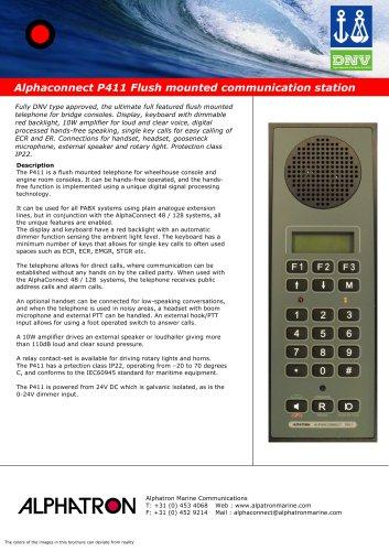 Alphaconnect P411