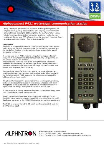 Alphaconnect P421