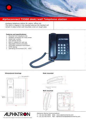 Alphaconnect TX500