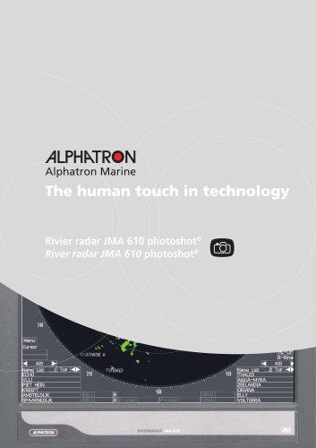 JMA 610 river radar inland