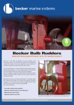 Becker Bulb Rudders