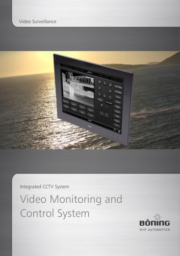 Video Monitoring and Control System