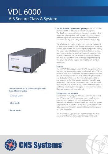 VDL 6000 AIS Secure System