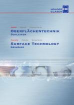 Surface technology - Grinding