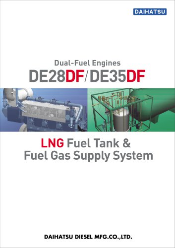Dual Fuel Engine (DE28DF/DE35DF)