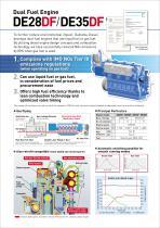 Dual Fuel Engine (DE28DF/DE35DF) - 2