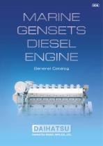 MARINE GENSETS DIESEL ENGINE