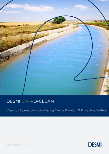 DESMI EnviRO-CLEAN Clean-up Operations