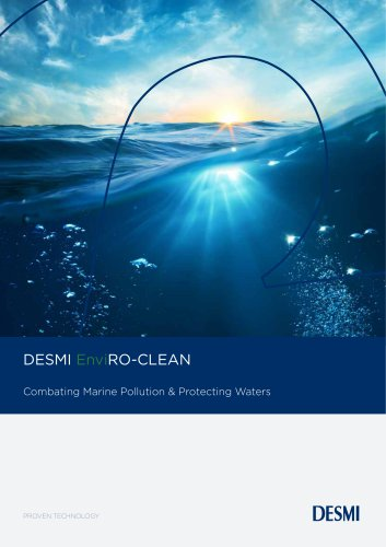 DESMI EnviRO-CLEAN Complete Waste Solution